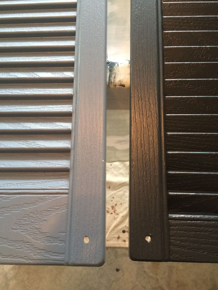 How to Paint Vinyl Shutters | Vinyl shutters, Sprays and Spray painting