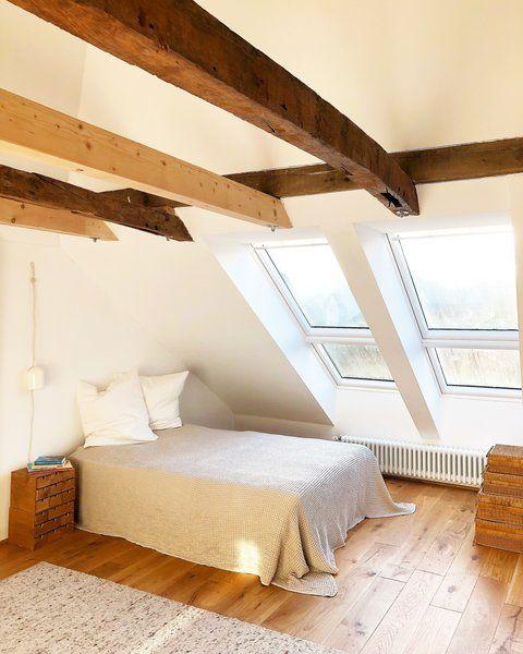 Dachschrägen einrichten Tipps und Ideen Schlafzimmer
