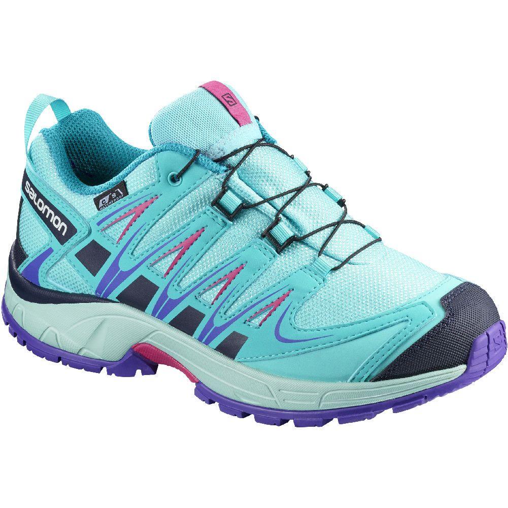 Salomon Xa Pro 3d Cs Waterproof Junior Trail Running Shoes Kid S Ropa Clasica Ropa Clasicos