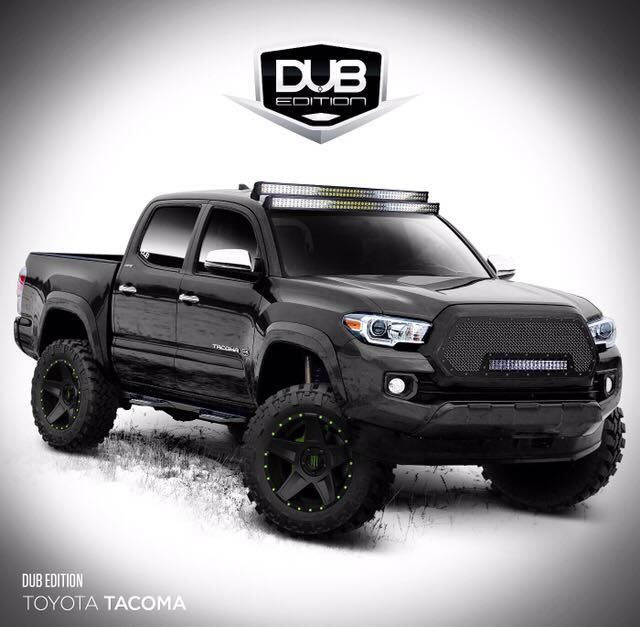 Toyota Tundra Double Cab 4x4: Toyota Tacoma 2016 Lifted - Google Search …