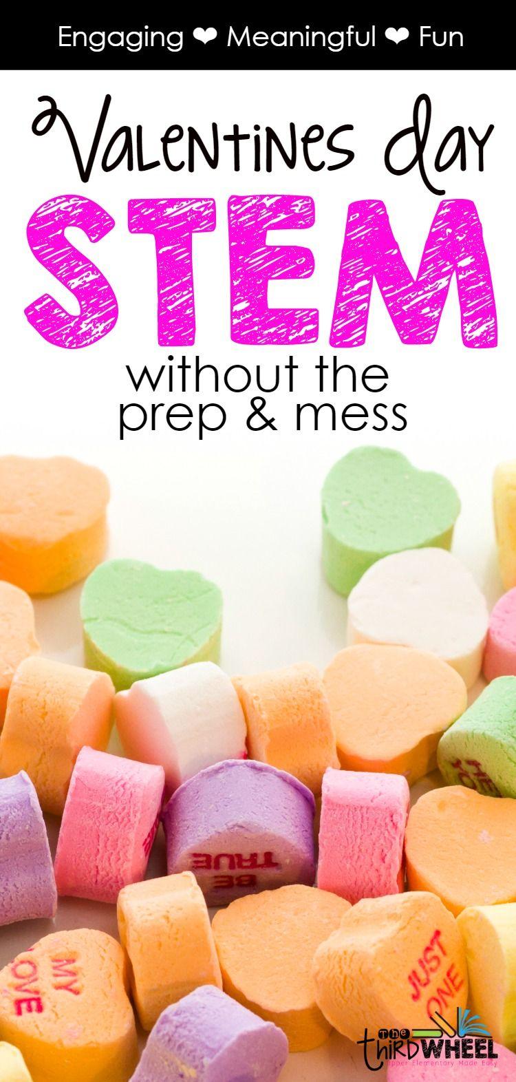 Valentine's Day STEM Challenge-Building Conversation Heart ...