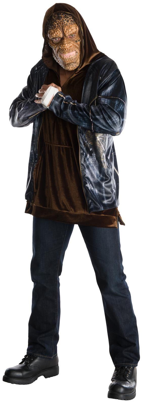 Men's Suicide Squad: Killer Croc Deluxe Adult Costume - Standard ...