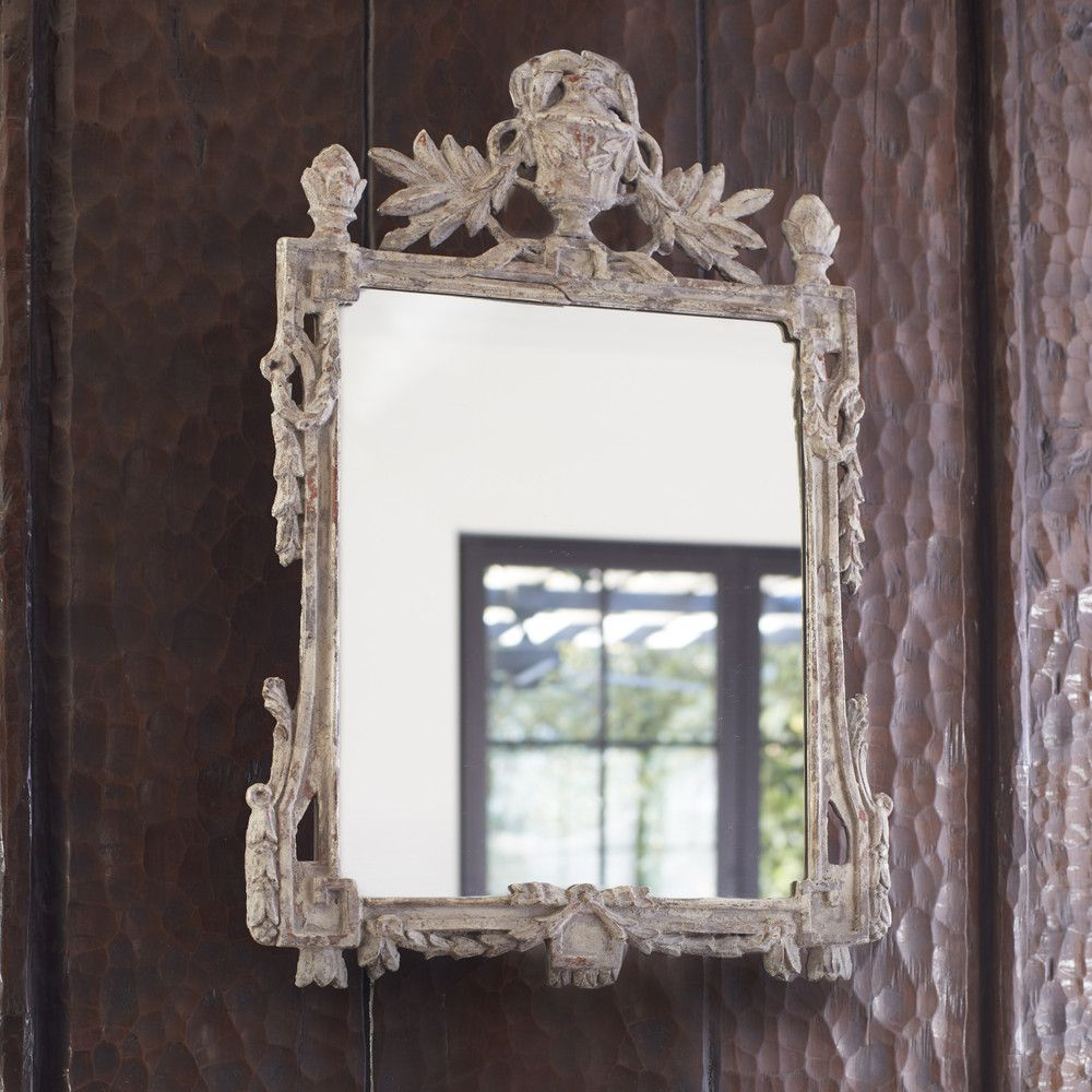 Carved French Mirror Wisteria With Images Shabby Chic Room
