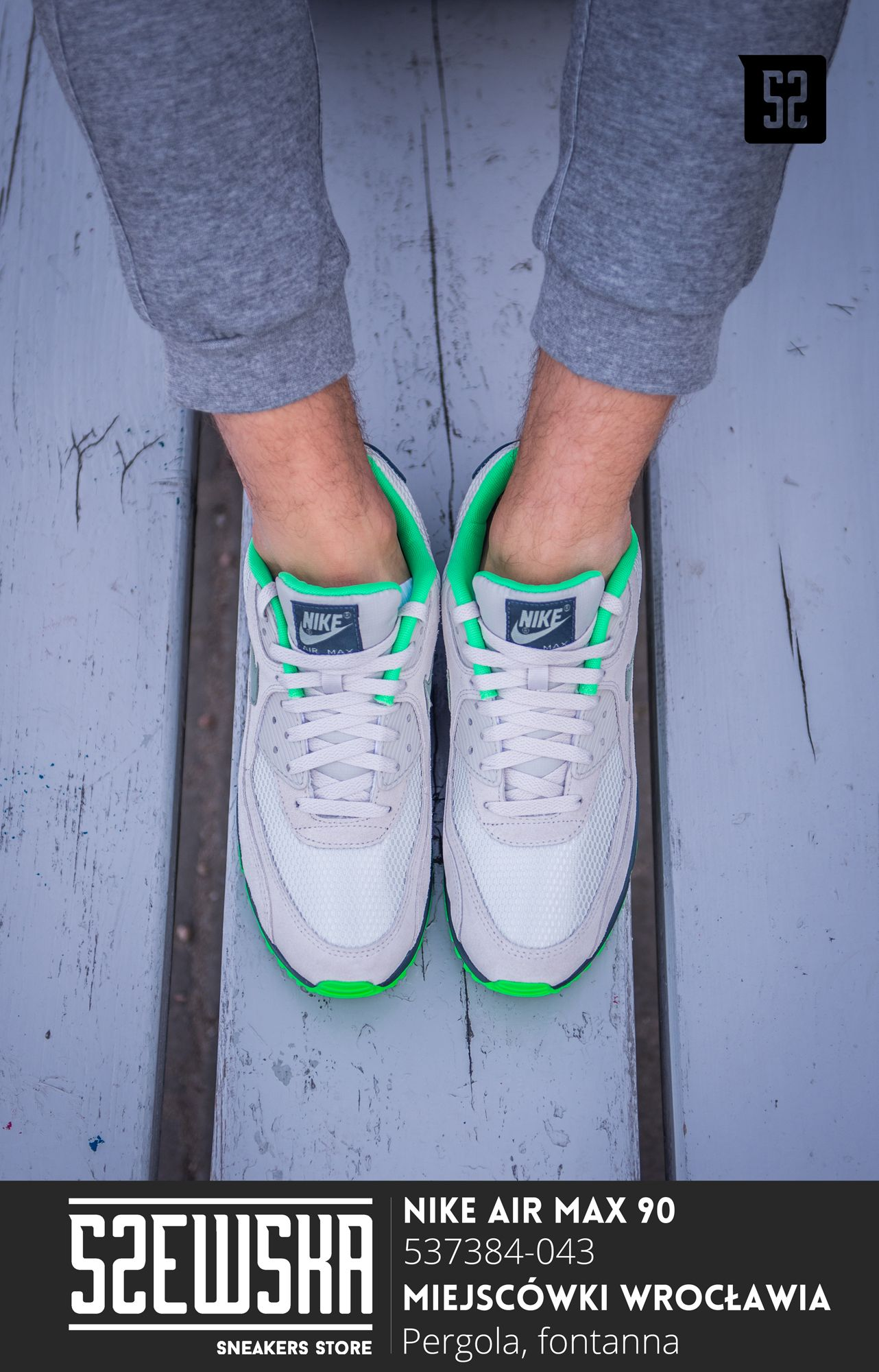 Nike Air Max 90 | 537384-043 | Szewska Sneakers Store | e-szewska.pl