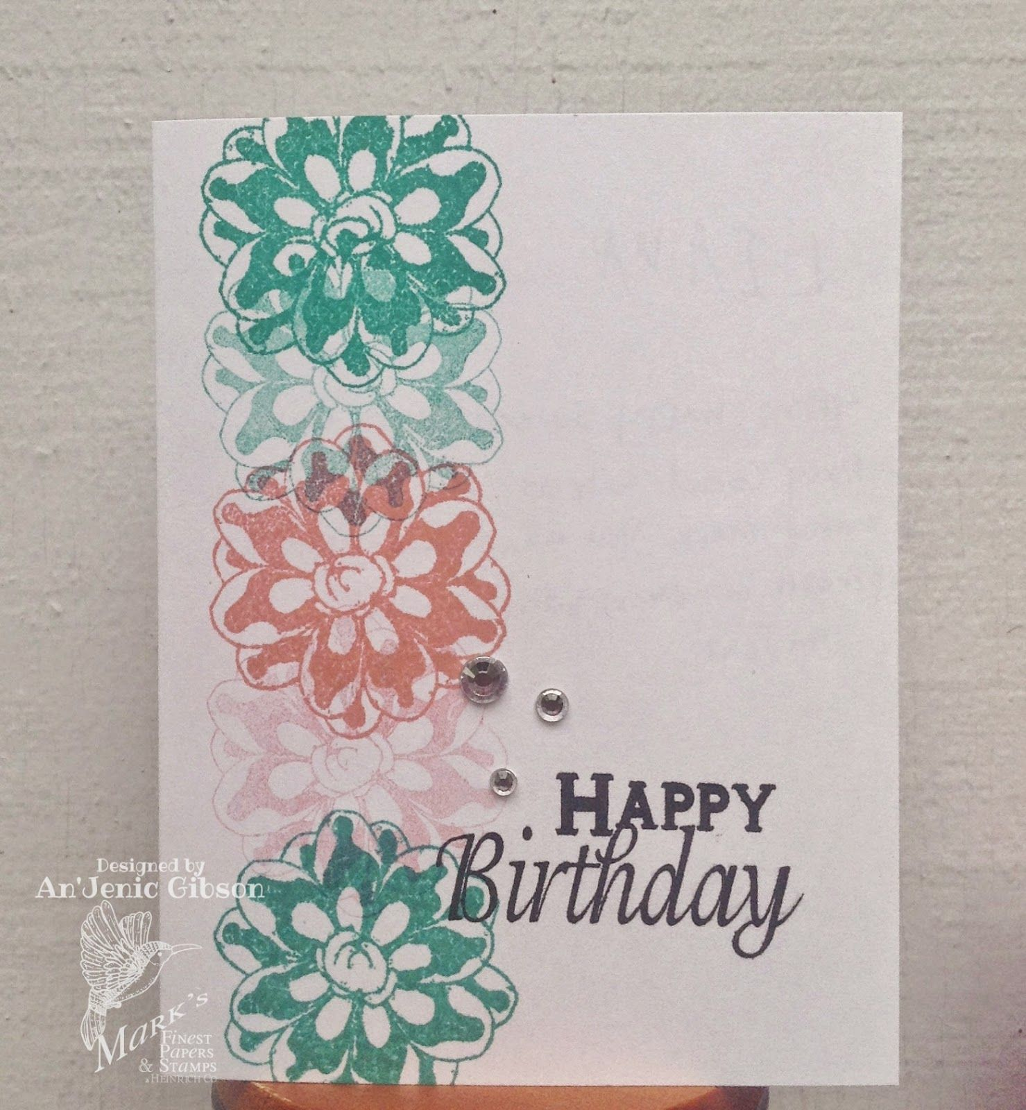Happy Birthday Mom Ajscrapbookingandcards Cards Card
