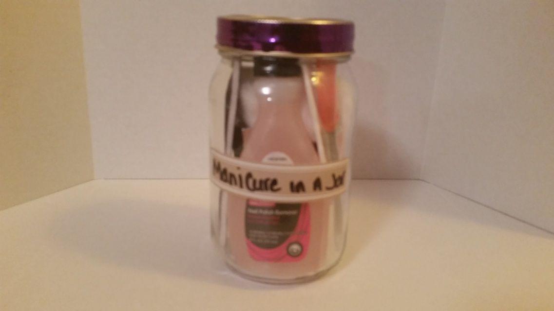 Manicure in a Jar