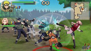 jogo naruto shippuden ultimate ninja impact psp iso