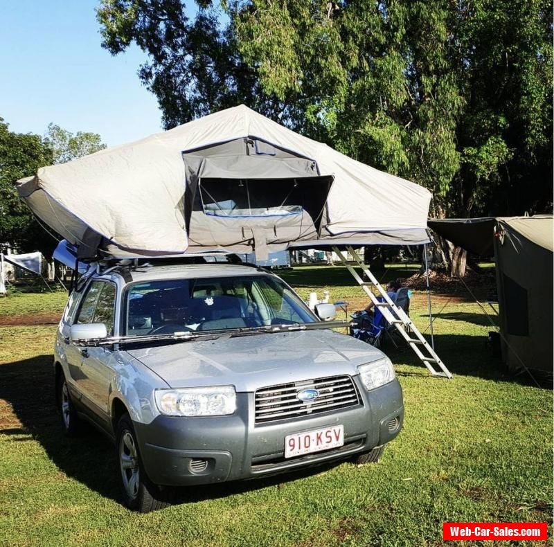 SUBARU FORESTER 4WD ROOFTOP TENT subaru forester