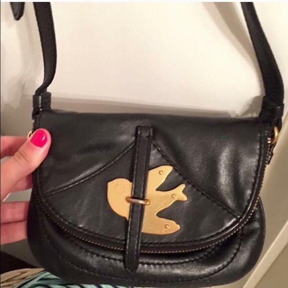 78dfa2ad6d79 Marc Jacobs Mini Crossbody Black Marc Jacobs Mini Crossbody with gold bird.  Bought a few