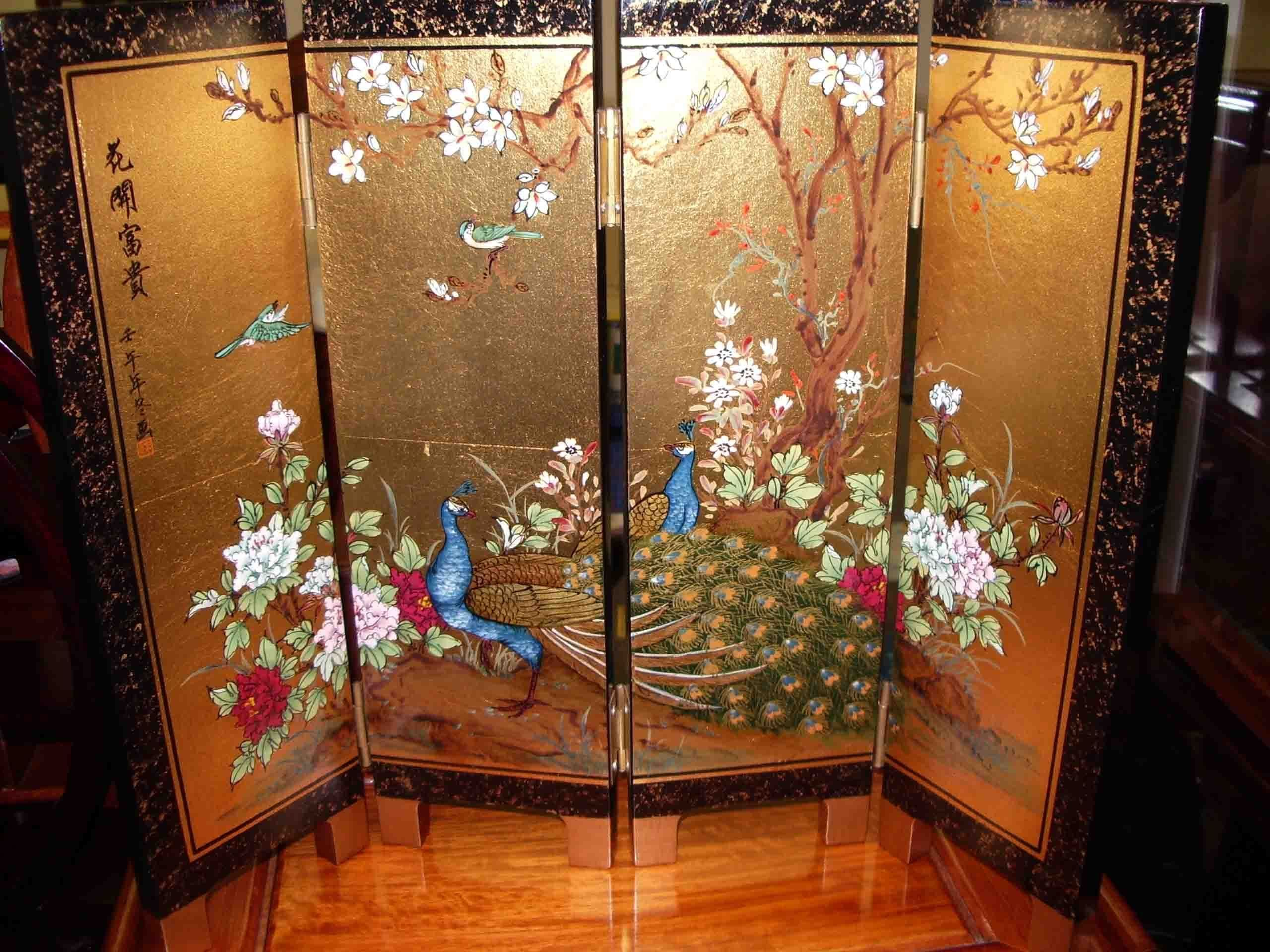 Room Interior The Hidden Beauty Of Chines Folding Screens Room Dividers