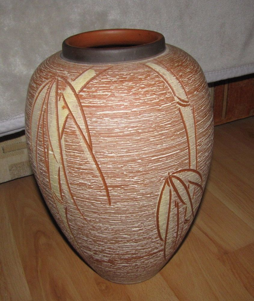 Vintage germany big large vase decor stoneware pottery handmade vintage germany big large vase decor stoneware pottery handmade handarbeit reviewsmspy