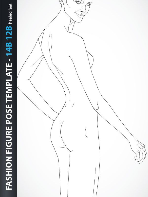Fashion figure template croquis fashion sketch pinterest fashion figure template croquis pronofoot35fo Gallery