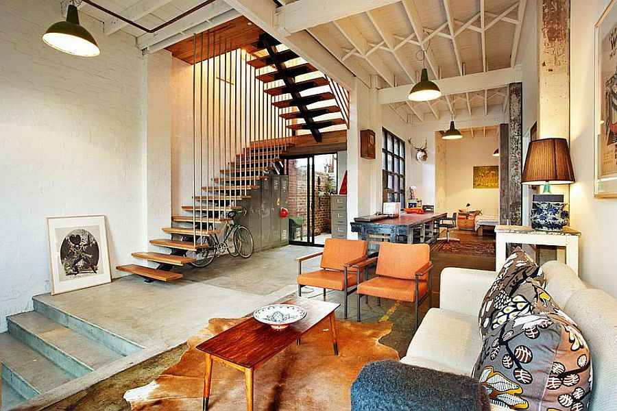 Touch of New York LoftStyle Warehouse Conversion in Melbourne