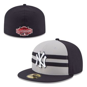 74c0d7bef21 Men s New York Yankees New Era Navy 2015 All-Star Game Authentic Collection  Diamond Era On-Field 59FIFTY Fitted Hat