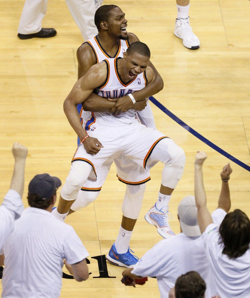 Thunder-Clippers: How it was Westbrook to the 'Russ-cue ...