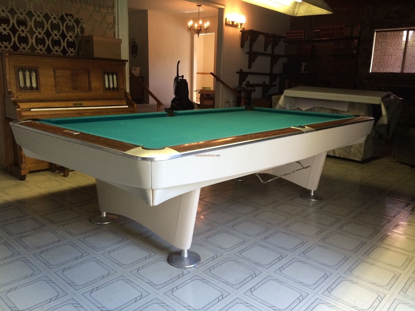 Ft Brunswick Gold Crown Pool Table EBay Billiards Pinterest - 9 ft brunswick pool table