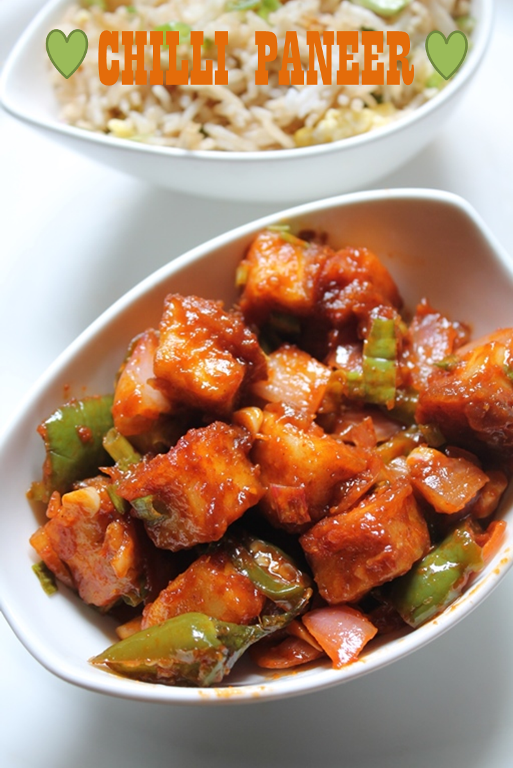 Restaurant Style Chilli Paneer Recipe / Chilli Paneer Dry Recipe.. This looks very simple and should be amazing