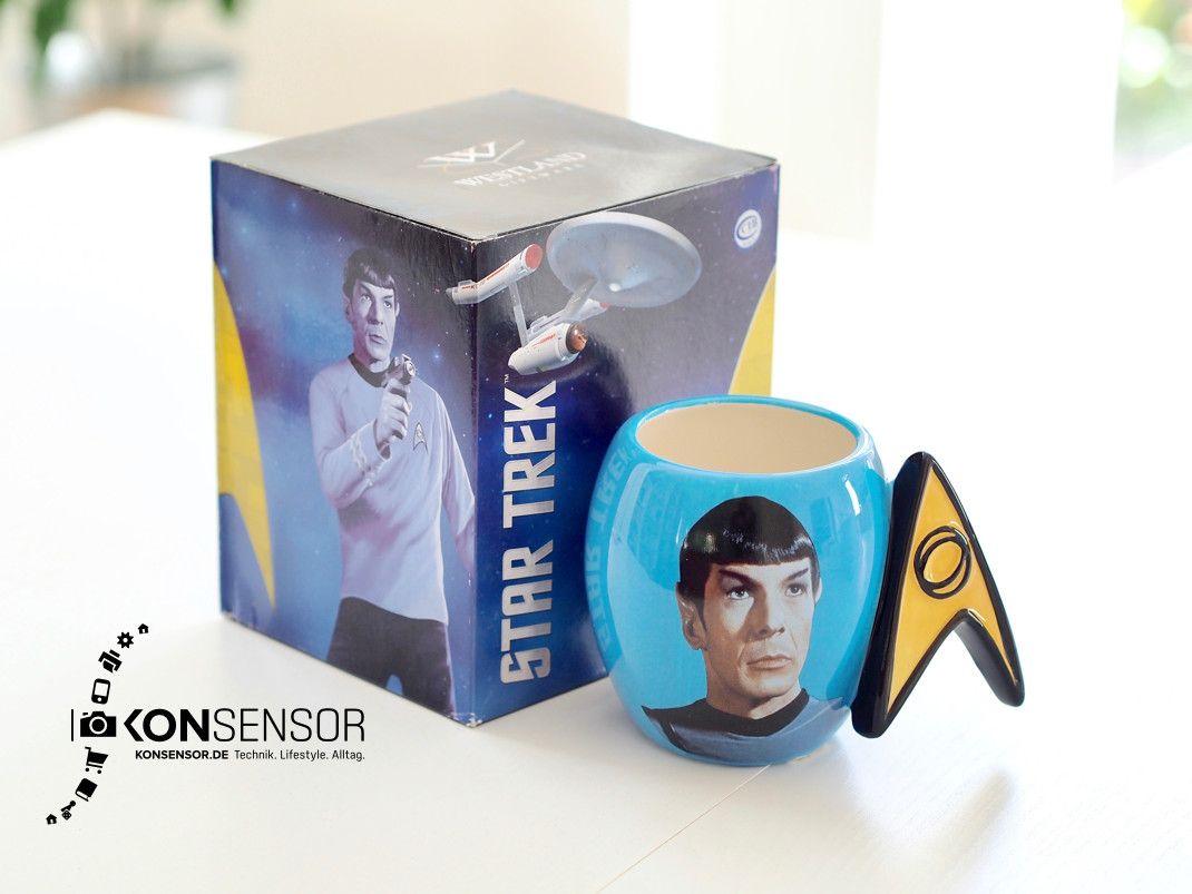 Faszinierend! Spock Mug. Der Raumschiff Enterprise Star Trek TOS Spock Becher