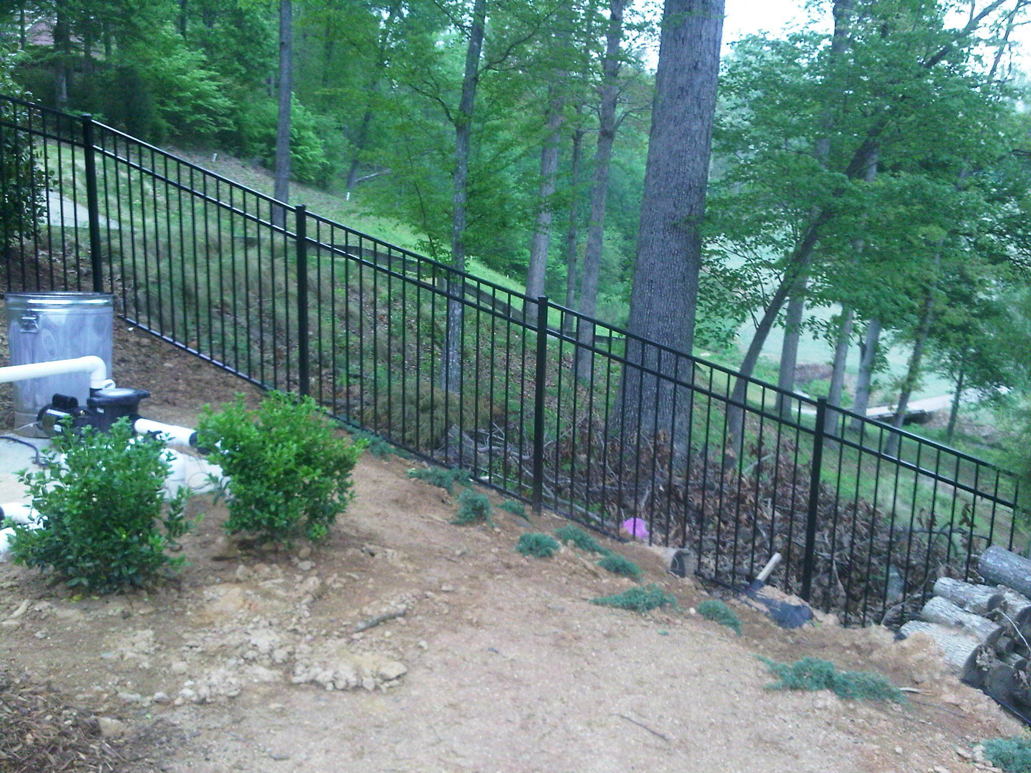 We Will Need A Fence At Top Of Retaining Wall That Matches