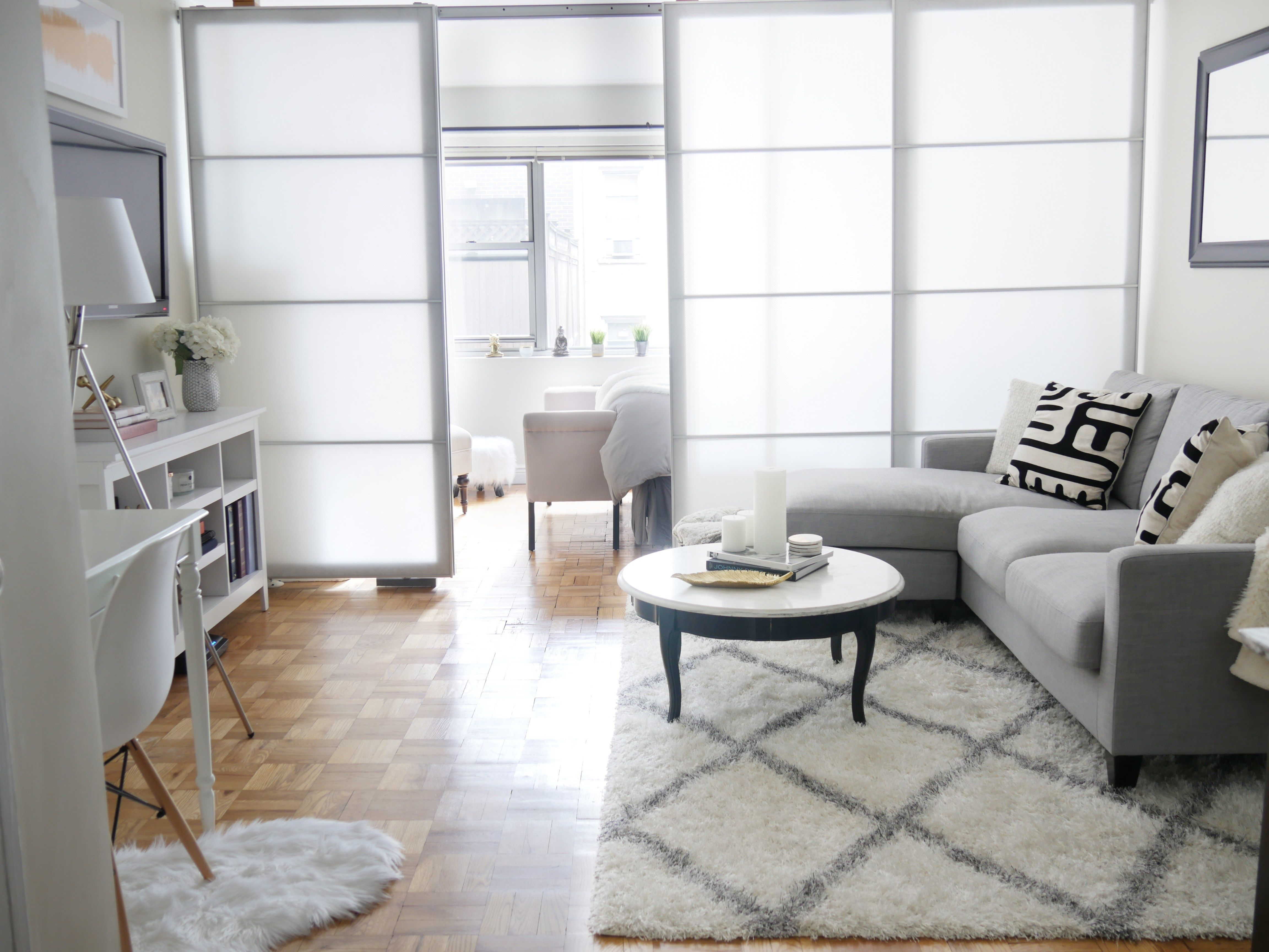 Before After Chic Meets Glam Inside A Nyc Studio Apartment