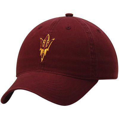 ce247ee8642 Men s adidas Maroon Arizona State Sun Devils Basic Logo Slouch Adjustable  Hat