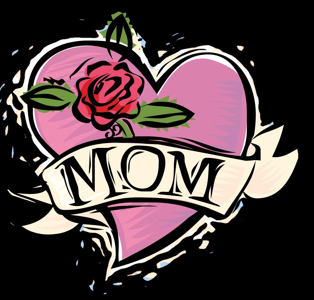 Mom Tattoo Needlepoint Rose Canvas Happy Mothers Day Clipart Free Clip Art Happy Mothers Day Pictures