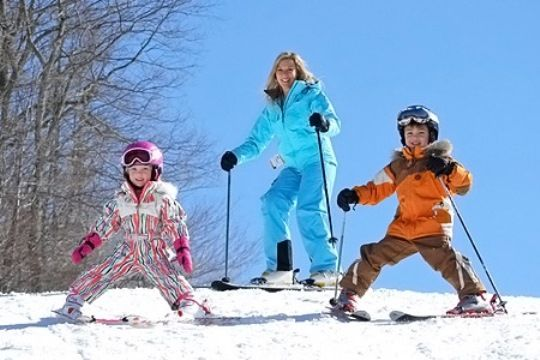 Appalachian Mountain Ski Family Boone NC (With images