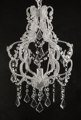 Charming Enchanting Battery Operated Chandelier Dining Room Picture .