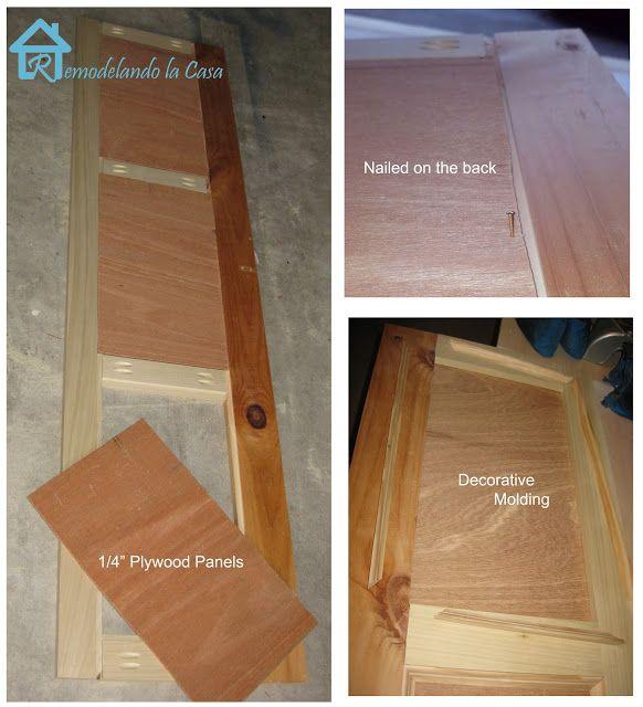 Remodelando la Casa: Bathtub Wood Panel Cover