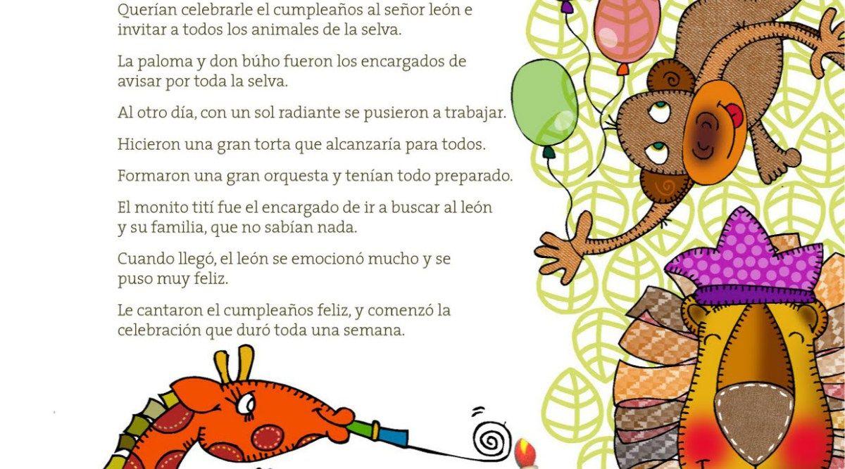 Cuentos De Animales De La Selva Cortos Para Niños Hábitos De Niños