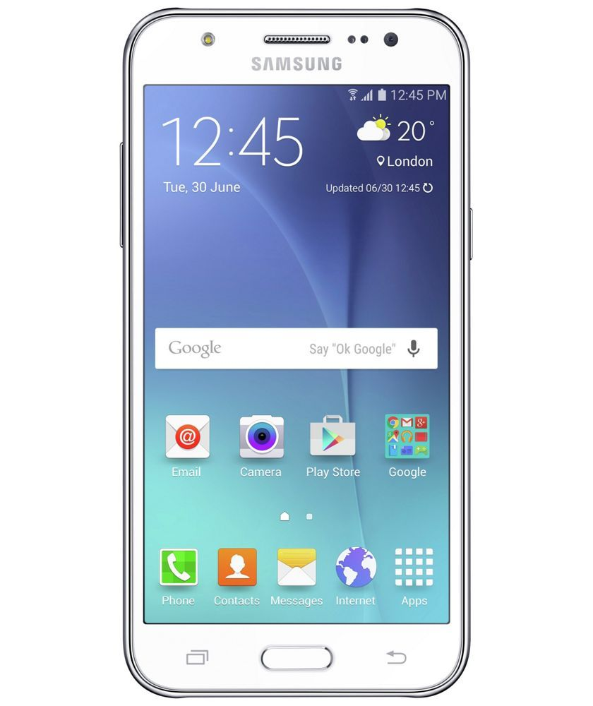 size 40 03eb5 0c692 Buy Sim Free Samsung Galaxy J5 Mobile Phone - White at Argos.co.uk ...