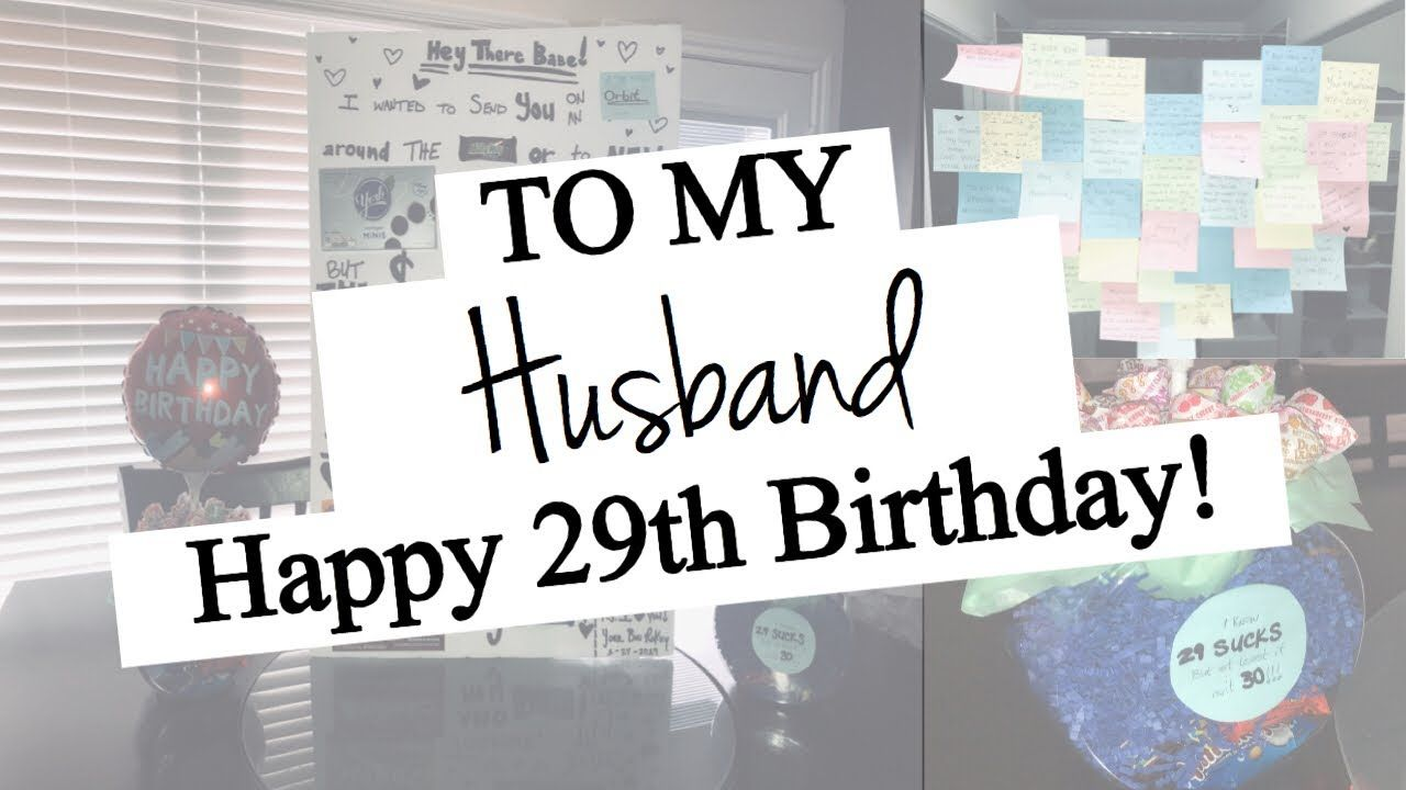 HUSBAND'S BIRTHDAY SURPRISE HOME SWEET HOME YouTube