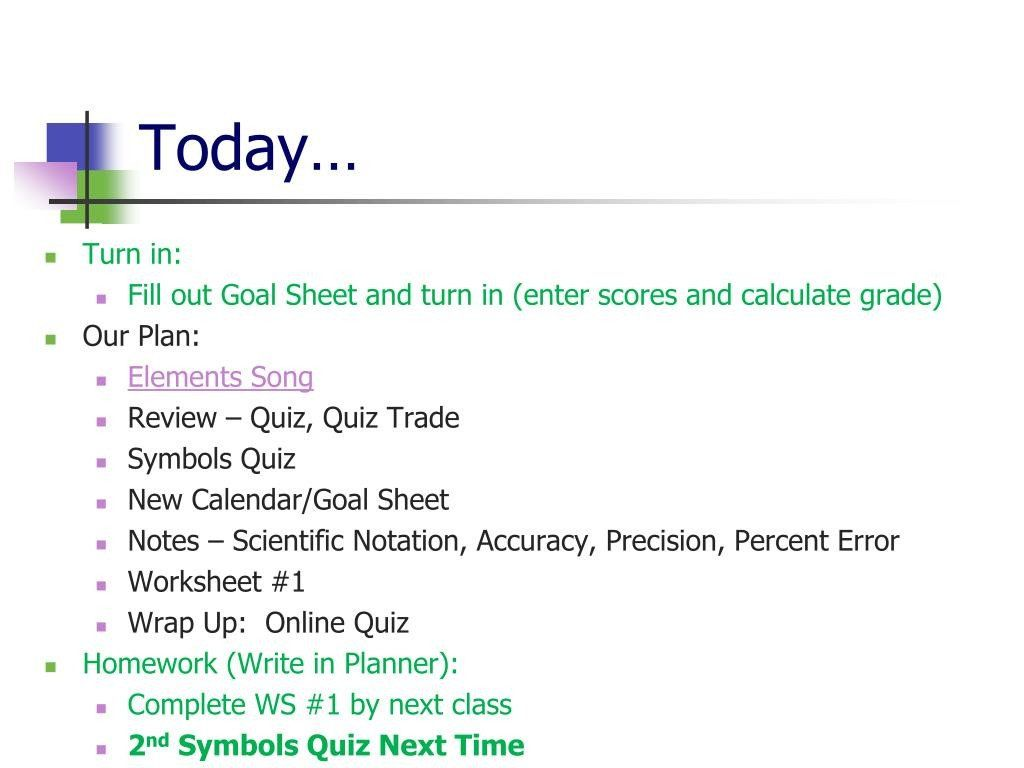 Percent Error Worksheet Answers Ppt Unit 2 Powerpoint Presentation Free Id In 2020 Worksheets Answers Printable Worksheets