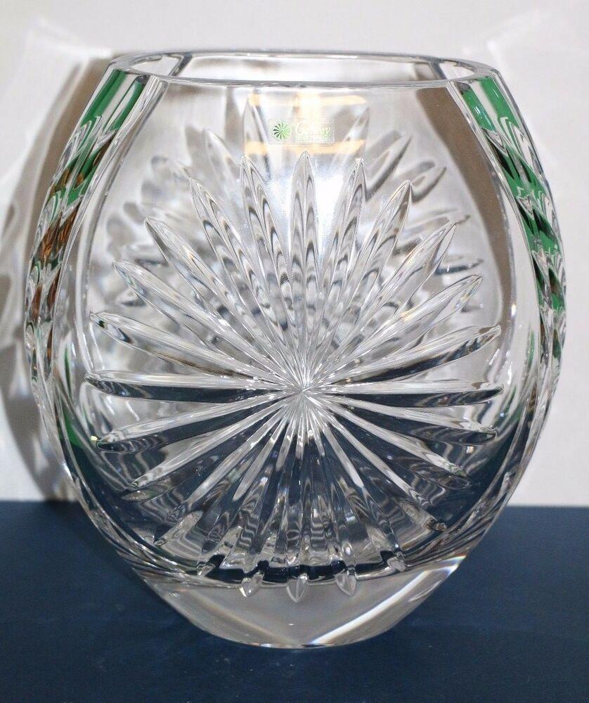 Galway irish crystal millennium piece 8 clear glass star
