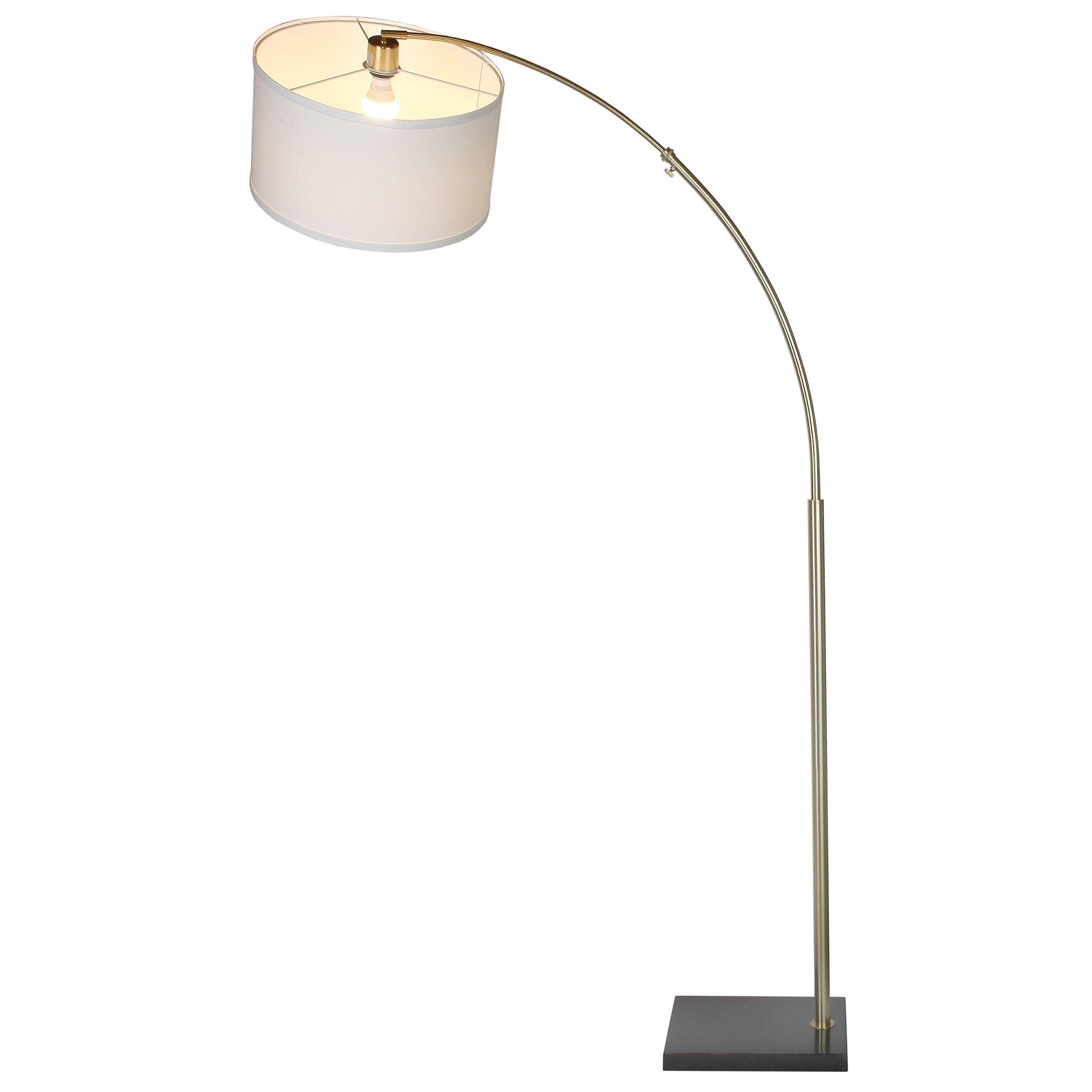 Brightech Logan LED Floor Lamp Modern Arc with Hanging