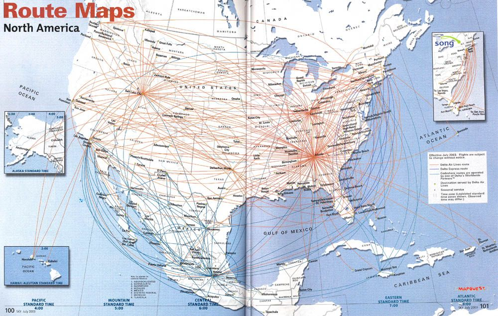 Delta Map Of Flights All The Best Flight In - Delta route maps