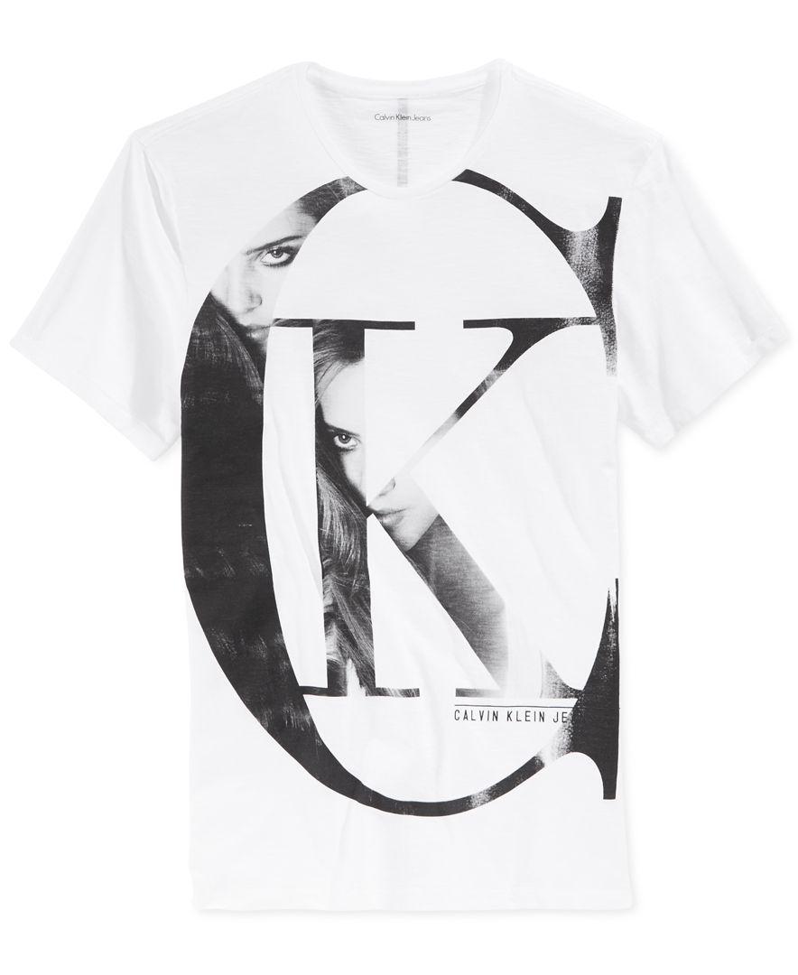 7aada7c8e2b53 Calvin Klein Jeans Men s Graphic-Print T-Shirt