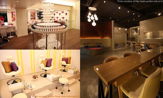 nail salons come in different atmospheres and sizes - Nails Salon Design Ideas