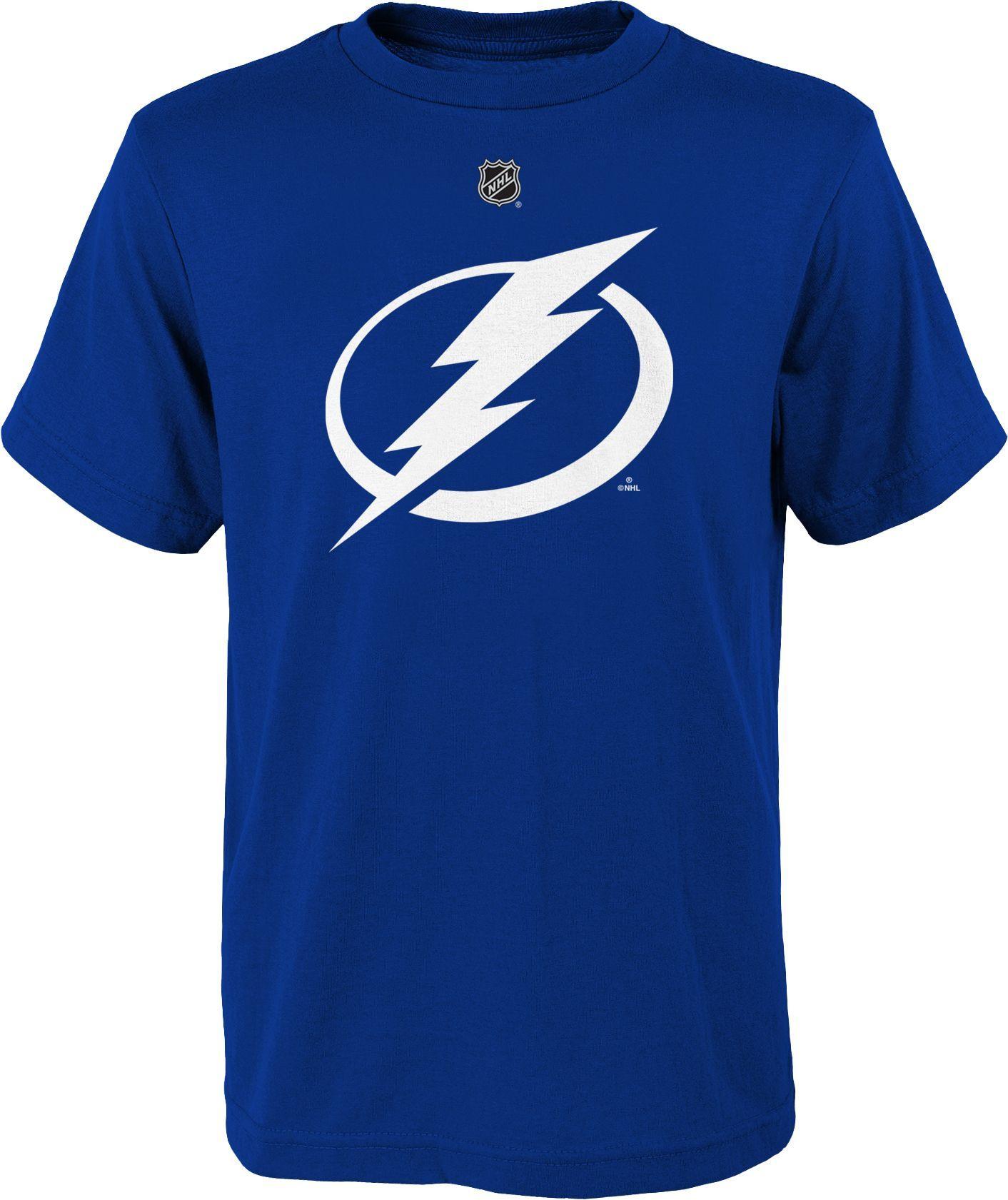 NHL Youth Tampa Bay Lightning Big Logo Royal T-Shirt