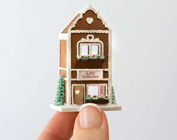 True2Scale Dollhouse Miniatures - Micro Gingerbread Cafe Kit, $28.00 (http://www.true2scale.com/micro-gingerbread-cafe-kit/)