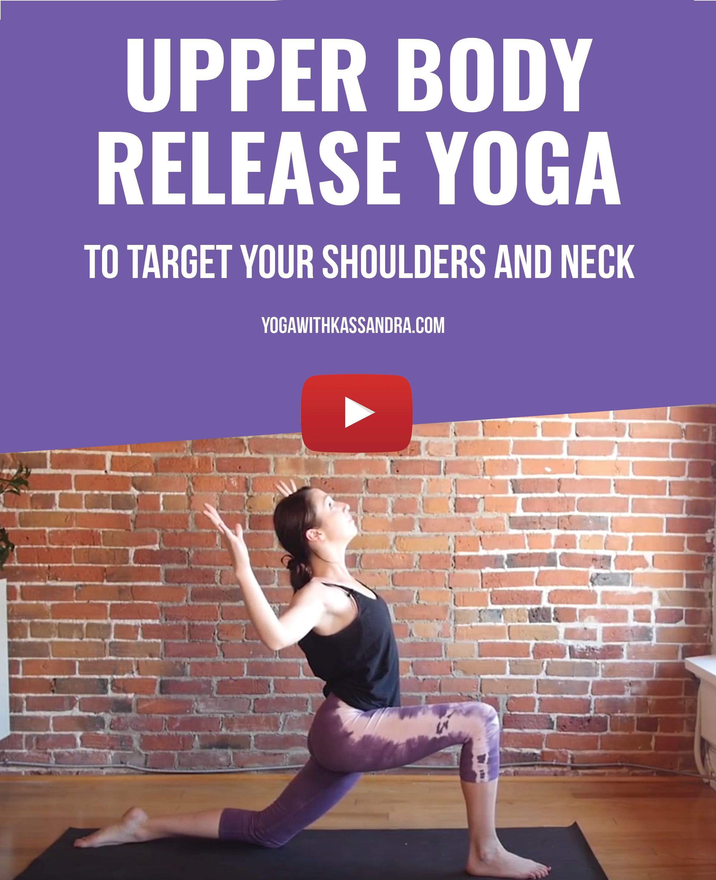 Yoga To Relieve The Tension In Your Neck Shoulders And Upper