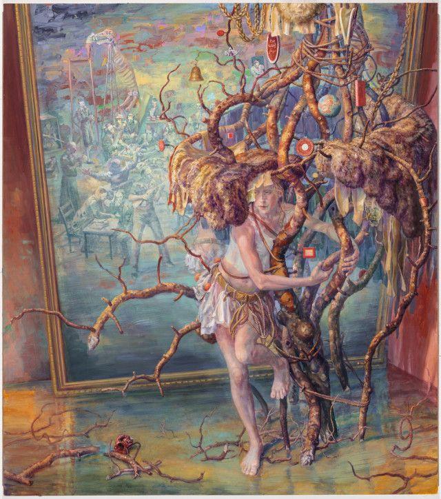 Bright Environmental Paintings by Artist Julie Heffernan   The Dancing Rest https://thedancingrest.com/2016/11/01/bright-environmental-paintings-by-artist-julie-heffernan/