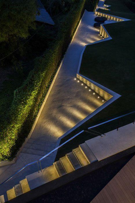landscape lighting design installation