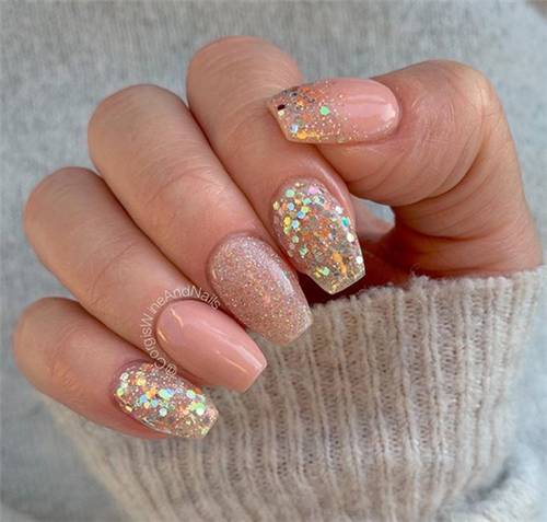 Fabulous Short Coffin Nails Colors In Fall And Winter – #coffin #color