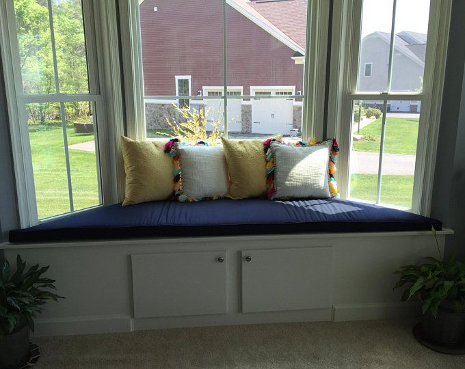 Trapezoid Cushion Custom Cushion Bay Window Seat