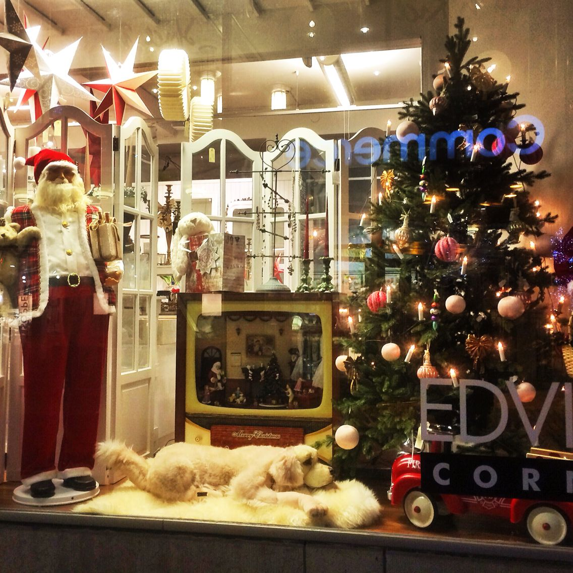The display window of my favourite shop in Skövde, Sweden ❤️