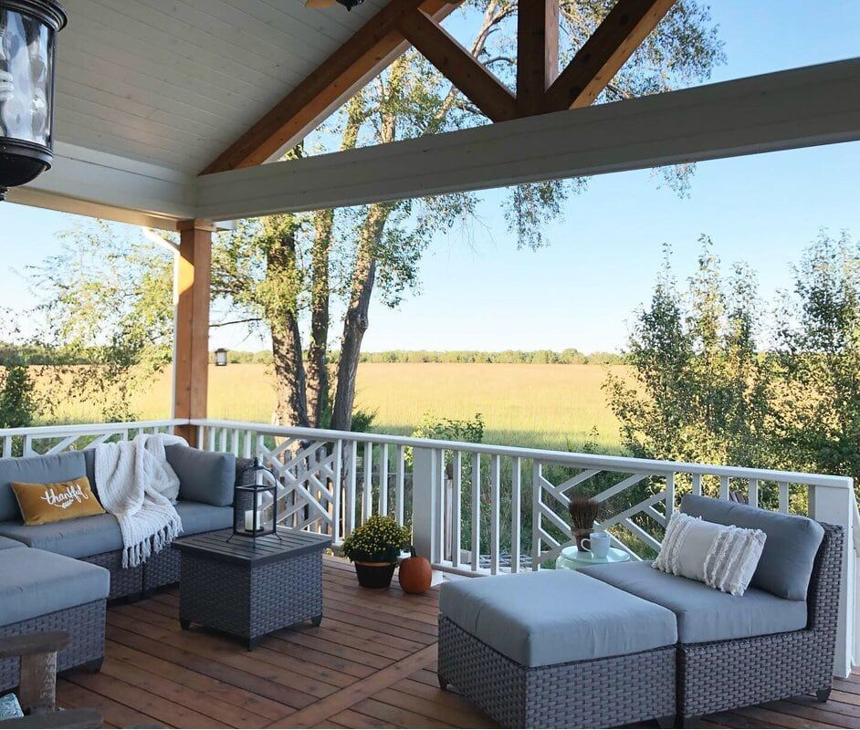 25 Porch Roof Ideas Boost Your Curb Appeal In 2020 Patio Deck Designs Porch Roof Small Porches