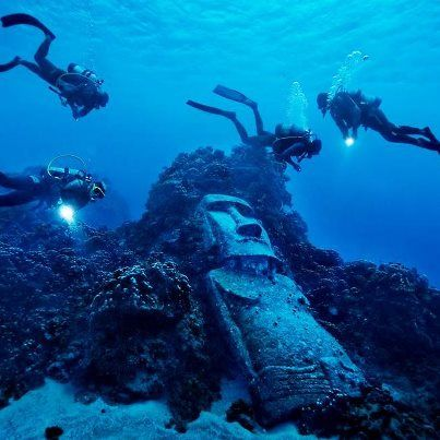 """Easter Island Diving - Funktastic Places & Creatures - Funk Gumbo Radio: http://www.live365.com/stations/sirhobson and """"Like"""" us at: https://www.facebook.com/FUNKGUMBORADIO"""
