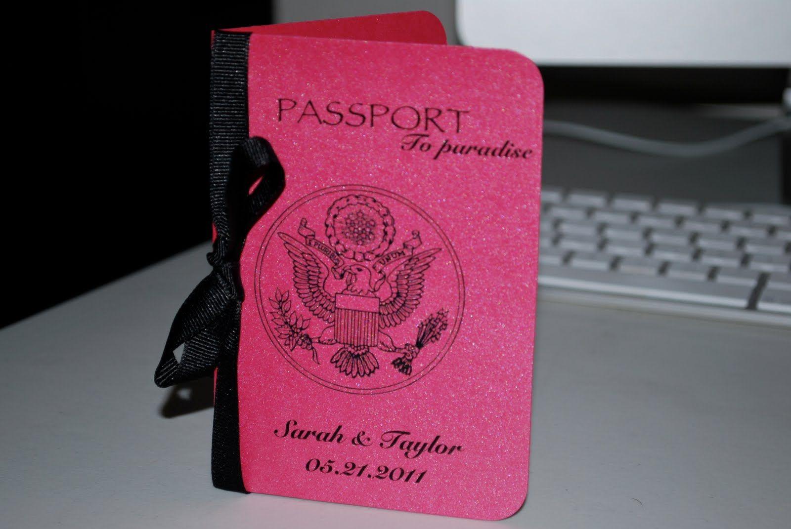 passport wedding invitations ireland passport wedding invitations