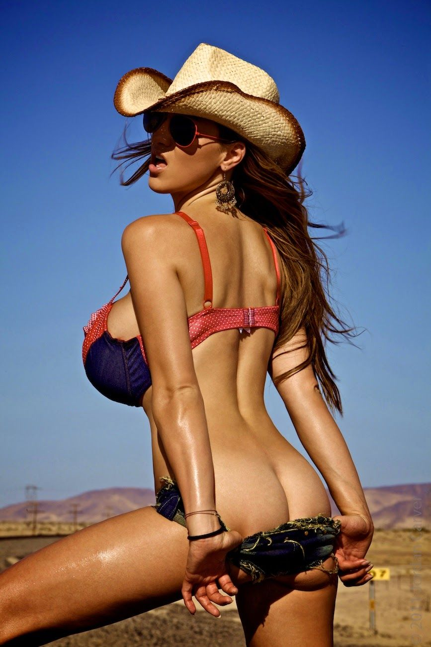 naked cowgirls big boobs